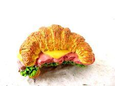 Croissandwich Fast Food 3D Fridge Magnet Souvenir Memo Holder Gift Kitchen Resin