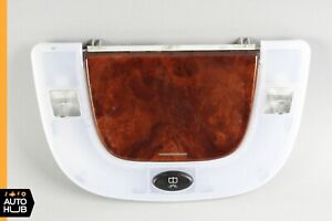 00-06 Mercedes W220 S600 S500 Rear Reading Dome Light Mirror Left or Right Wood