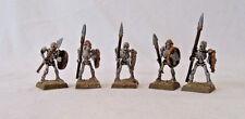 Warhammer Skeleton Warriors, 5 in set