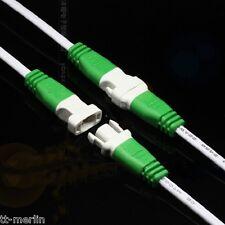 M23 / 1 Paar  Stecker & Buchse mit Kabel  28cm  2 polig Verbindungskabel