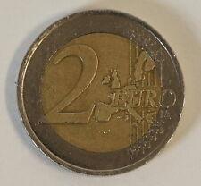 2 Euro Münze Fehlprägung Stufe 2 2001 LIBERTE Halbe Sterne Error dezentriert