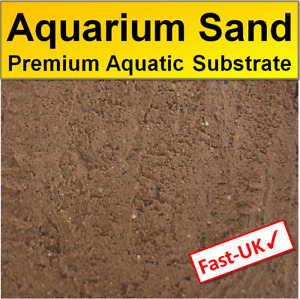Aquarium Sand - Premium Natural Fish Tank Aquatic Substrate Sand 0.5,1,2 kg
