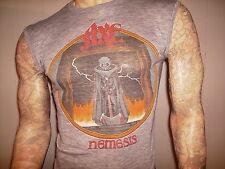 vtg 80's AXE CONCERT T SHIRT Your Mama Tour 1983 NEMESIS Hard Rock Metal Band SM
