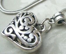 Vampire Diaries Vervain Filled Charm Pendant Necklace