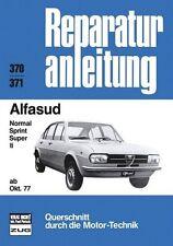Alfasud ab Oktober 1977 (2012, Kunststoffeinband)