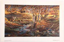 "Terry Redlin ""Nature's Sentinel"" S/N Ltd Ed Print #178/9500 COA"