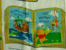 Winni The Pooh Fabric Book Quilt Fabric