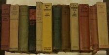 Pulp Fiction Antique Book Collection Lot 1920-1940 Collectible Memorabilia Gift