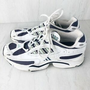 Adidas 8 Ozweego Classic Original Vintage Rare Running 2000? Adiprene Blue White