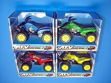 4 Atv Quad Runners Red Blue Green Yellow Diecast G-Scale Bachmann Lgb Size Train