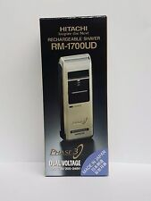 HITACHI RECHARGEABLE SHAVER RM - 1700 UD MADE IN JAPAN