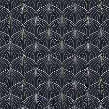 AU MAISON Wachstuch Alli Twilight Blue dunkelblau beschichtete Baumwolle 0,5M