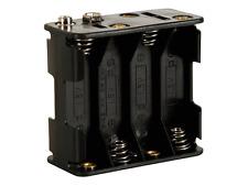 Boitier Coupleur pour 8 PIles 1,5 Volt R6 / LR6 Contacts à Pression