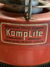 Nice Vintage Kamplite Inverted Latern Basement Find w Papers