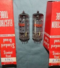 WORLDS BEST NOS PAIR 7868 RCA TUBES MADE IN ENGLAND POWER VALVES 1960'S MINT NEW