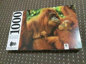"Mindbogglers 1000 Piece Jigsaw Puzzle ""Orangutans"" - FREE AUS POST!!"