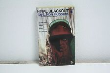 Final Blackout- L. Ron Hubbard- 1st Leisure Book 1970- Nick Gallaway cover-SF773