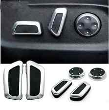 6x Chrome Seat Adjustment Switch For AUDI A5 Q5 A4 B8 2009 2010 2011 2012 vw cc