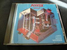 Accept - Metal Heart (CD 1985) UDO DIRKSCHNEIDER U.D.O. BILLIONAIRES BOYS CLUB