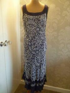 INDIAN LAKE silk dress size 16