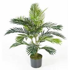 Palma Areca artificiale, 17 fronde, 90 cm - Pianta decorativa / Pianta finta