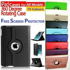 iPad Leather Case for iPad 2 ,3 ,4,  360° Rotating Cover Free Screen Protector