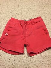 Girls Short - Size 4 Adjustable - Pink