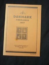 DANMARK FIREBLOKKE 1977 by AARHUS FRIMAERKENHANDEL