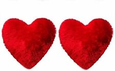 Heart Shape Pillow For Valentines Gifts  Set Of 2 Size 30 x 20 cm- Free Shipping