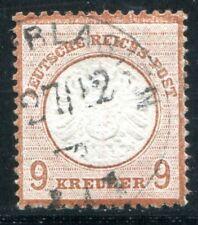 DR 1872 27a gestempelt geprüft BPP 550€(Z3059
