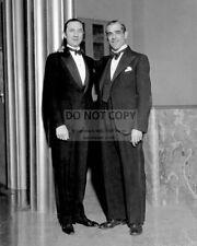 BELA LUGOSI AND BORIS KARLOFF LEGENDARY HORROR FILM ACTORS - 8X10 PHOTO (DD605)