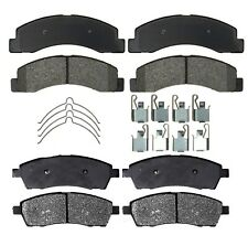 Front Rear Semi-Met Brake Pad Sets Kit ACDelco for Ford Excursion F-250 F-350 SD