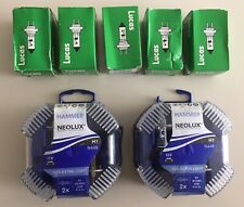 5x LUCAS HEADLAMP BULBS & 4x HAMMER NEOLUX HEADLAM BULBS – NEW UNUSED Fiat Stilo