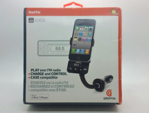 Griffin FM Transmitter Charge Control RoadTrip Smart Scan For Apple iPhone/iPod
