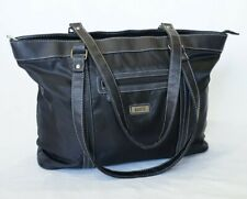 Roots Black nylon & leather Bag
