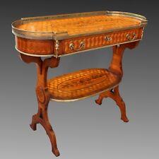 Table d'époque Napoleon III - en marqueterie - du 19ème siècle