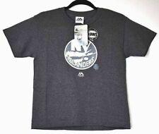 New York NY Islanders NHL Majestic Youth Kids Small T-Shirt Glows In The Dark