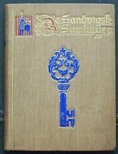 Rare Scarce DE SANDVIGSTE SAMLINGER 1907 no reprint Norvège Historie TBE ethnogr