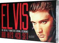 Elvis Presley 100 Hits 4 CD Original Recordings Greatest 50s Music Tracks New