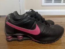 Nike 2009 Shox Classic II Womens Shoe Size 8.5 Black/Pink Training  343907-061