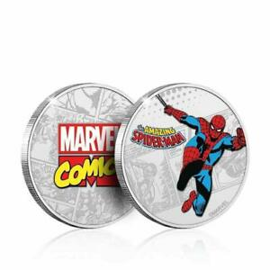 Marvel Spider-Man Collector's Limited Edition Coin (Silver) (New)