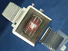 Vintage Hudson Instalite Gents Jump Hour Swiss Watch Circa 1970s New Old Stock