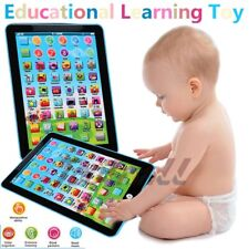 Mini Baby Kids Laptop Tablet Pad Computer Child Educational Game Toy Learning B