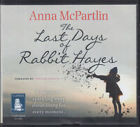 Anna McPartlin The Last Days Of Rabbit Hayes 10CD Audio Book Unabridged