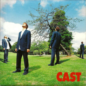"Cast – Flying. 7"". Picture Sleeve. White Vinyl. New"