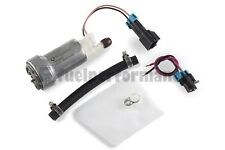 GENUINE WALBRO 450LPH High Performance Fuel Pump + Install Kit F90000274 E85 NEW