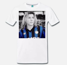 T-SHIRT MAGLIA TRIBUTO CLAUDIO PAUL CANIGGIA ATALANTA ARTWORK 1 S M L XL