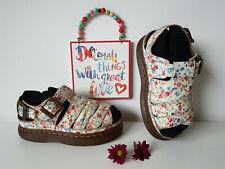 Dr. Martens floral flawers platform sandals UK 5 , EU 38 , US 7