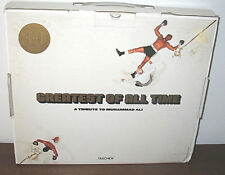 Greatest Of All Time A Tribute to Muhammad Ali GOAT Shipping Box 2010 Boxing
