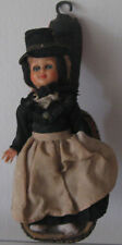 Doll souvenir in the German national costume. 1950. Free shipping.